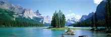 Maligne Lake poster print by  Unknown
