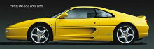 Ferrari 355 Gts-Gtb poster print by  Unknown