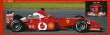 Ferrari F1 2002 poster print by  Unknown