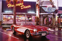 Corvette 1958 - Diner poster print by  Unknown