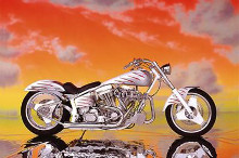 Motorcycle - Custom poster print by  Unknown