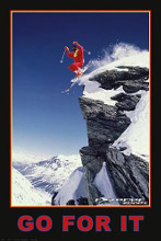 Go for it (Extreme Sport) poster print by  Unknown