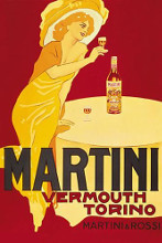Martini Rossi - Torino poster print by  Unknown