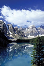 Moraine Lake, Banff poster print by  Unknown