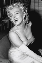 Marilyn Monroe Smiling poster print by  Unknown