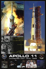 Apollo II Launch poster print by  Unknown