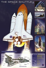 Space Shuttle poster print by  Unknown
