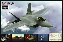 Airplane Raptor Fa-22 poster print by  Unknown
