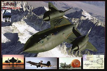 Airplane Blackbird Sr-71 poster print by  Unknown