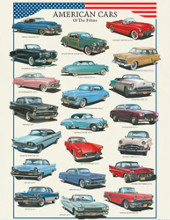 American Cars poster print by  Unknown