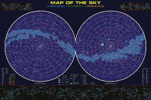 Map Of The Sky poster print by  Anonymous