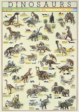 Dinosaurs poster print by  Unknown