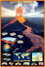 Volcano poster print by  Unknown
