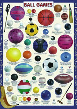 Ball Games poster print by  Unknown