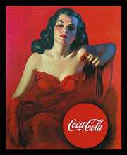 Coca-Cola poster print by  Unknown
