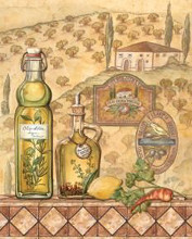 Flavors Of Tuscany II poster print by Charlene Audrey