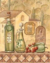 Flavors Of Tuscany III - Mini poster print by Charlene Audrey
