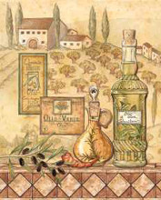 Flavors Of Tuscany I poster print by Charlene Audrey