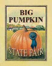 Big Pumpkin poster print