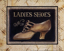 Ladies Shoes No 24 poster print by Kimberly Poloson