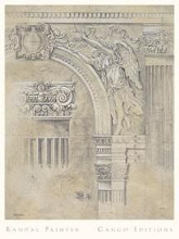 Arch Spandrel #2 poster print by Wm Randal Painter