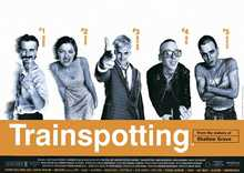 Trainspotting One Sheet poster print by  Unknown