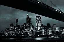 New York Bridge poster print by  Unknown