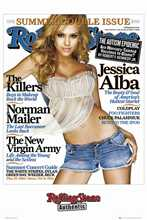 Rolling Stone Jessica Alba poster print by  Unknown