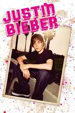 Justin Bieber poster print by  Unknown