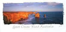 Great Ocean Road poster print by Jorg Heumuller