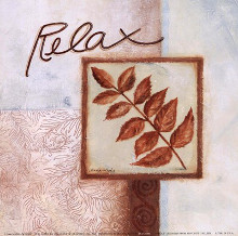 RelaX poster print