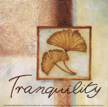 Tranquility poster print by Maria Woods