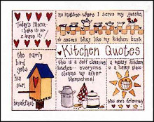 Kitchen Quotes poster print