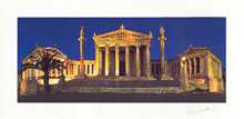 Academy of Athens poster print
