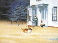 Cape Cod Evening poster print by Edward Hopper