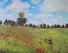 Corn Poppies poster print by Claude Monet