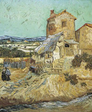 Old Mill poster print by Vincent van Gogh