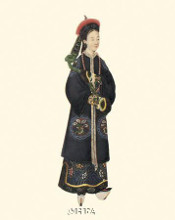 Chinese Mandarin Figure X poster print by Anonymous Chinese Figures