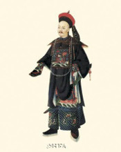 Chinese Mandarin Figure XII poster print by Anonymous Chinese Figures
