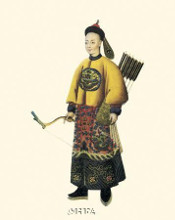 Chinese Mandarin Figure VII poster print by Anonymous Chinese Figures