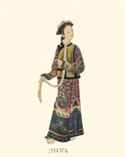Chinese Mandarin Figure V poster print by Anonymous Chinese Figures