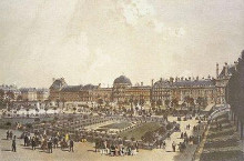 Palais Des Tuileries poster print by Ph Benoist