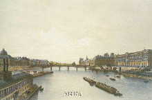 View Of The Louvre From The Seine poster print by Ph Benoist