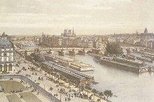 View Of The Seine From The Louvre poster print by Ph Benoist