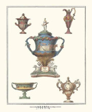 Antique Urns poster print by Anonymous Urns