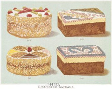 Decorated Gateaux-Occasion poster print by Pastries -Anon Cakes