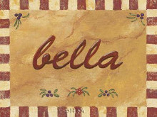 Bella poster print by Gayle Bighouse