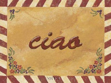Ciao poster print by Gayle Bighouse
