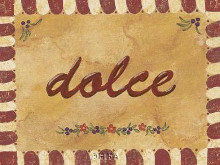 Dolce poster print by Gayle Bighouse