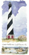 Cape Hatteras Lighthouse poster print by Kim Attwooll
